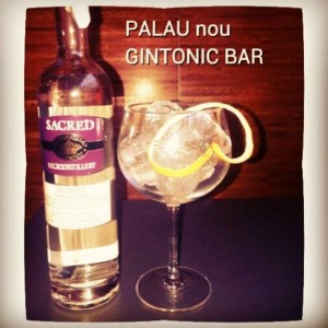 PALAU nou GNTONIC BAR
