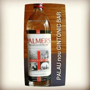 """PALMERS PREMIUM GIN"" PALAU nou GINTONIC BAR"