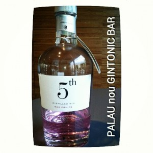 """5th FIRE RED FRUITS"" PALAU nou GINTONIC BAR"