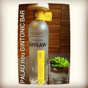 """GIN RAW"" PALAU nou GINTONIC BAR"