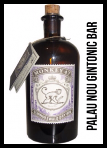 """MONKEY 47"" PALAU nou GINTONIC BAR"