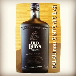 """OLD LADY'S GIN"" PALAU nou GINTONIC BAR"