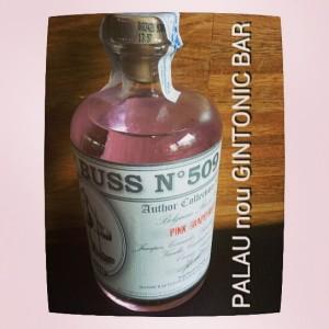 """""""BUSS nº 509 PINK GRAPEFRUIT GIN"""" PALAU nou GINTONIC BAR"""