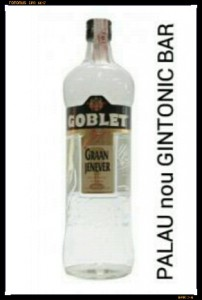 """GOBLET GIN"" PALAU nou GINTONIC BAR"