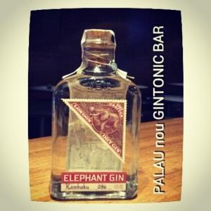"""""""ELEPHANT GIN"""" PALAU nou GINTONIC BAR"""