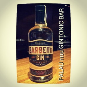 """BARBER'S GIN"" PALAU nou GINTONIC BAR"