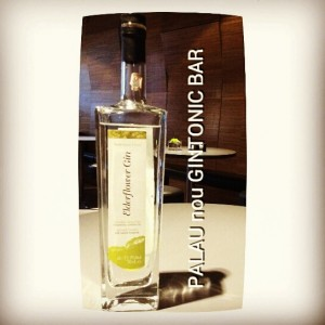 """ELDERFLOWER GIN"" PALAU nou GINTONIC BAR"