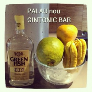 """GREEN FISH"" PALAU nou GINTONIC BAR"