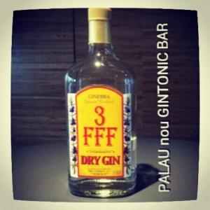 """""""3 FFF GIN"""" PALAU nou GINTONIC BAR"""
