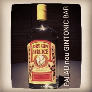 """DRY GIN HELICE"" PALAU nou GINTONIC BAR"