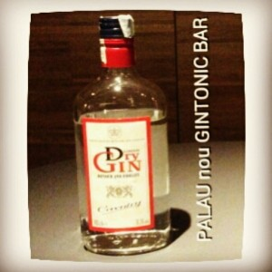 """COVENTRY DRY GIN"" PALAU nou GINTONIC BAR"