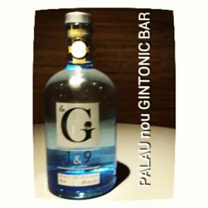 """""""Gin 1&9"""" PALAU nou GINTONIC BAR"""