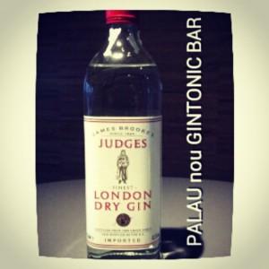 """JUDGES GIN"" PALAU nou GINTONIC BAR"