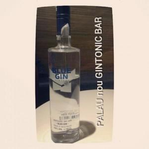 """""""BLUE GIN"""" PALAU nou GINTONIC BAR"""